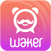 Waker: Wake Up With Cool Voice