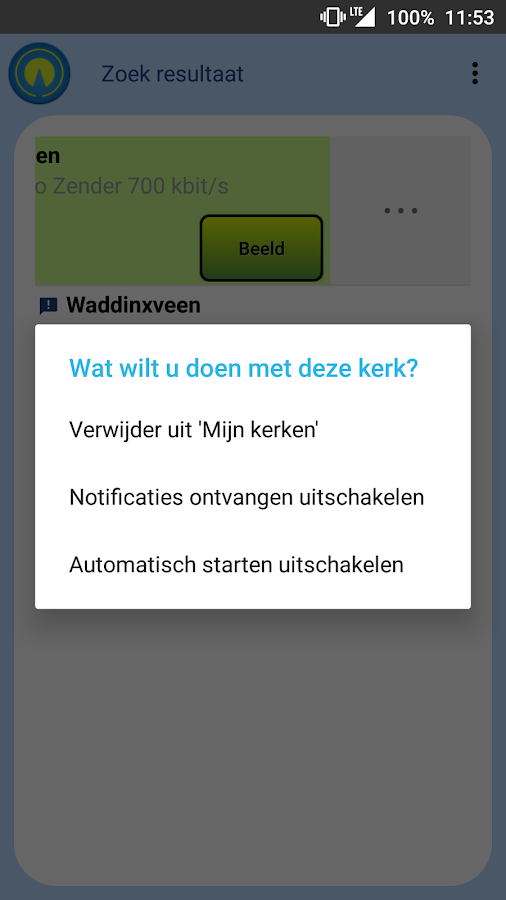 Kerkomroep: screenshot