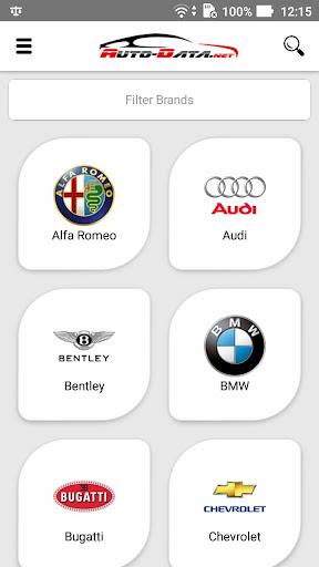 Screenshot for Auto-Data.net PRO in Hong Kong Play Store