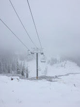 Photo: Lift lines are finally seeing some snow!