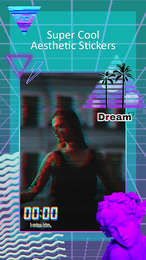 Vaporwave Aesthetic Editor - Trippy Effects by Best Pics Editor