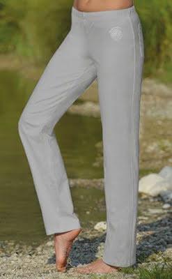 Wellnessbyxa silvergrå