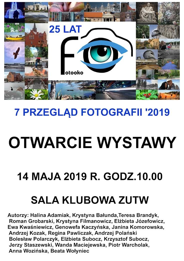 """Wystawa fotograficzna """"7 Przegląd Fotografii"""""""