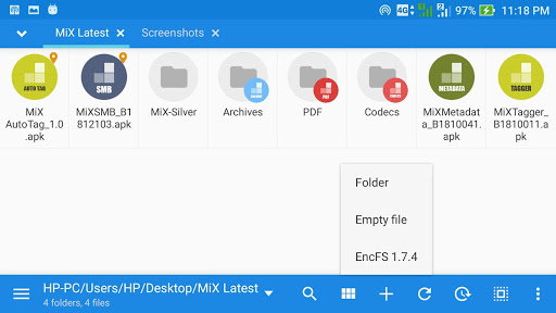 Screenshot for MiXplorer Silver - File Manager in United States Play Store