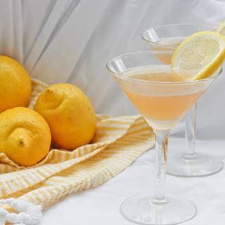 Lavender Lemon Bourbon Sour.