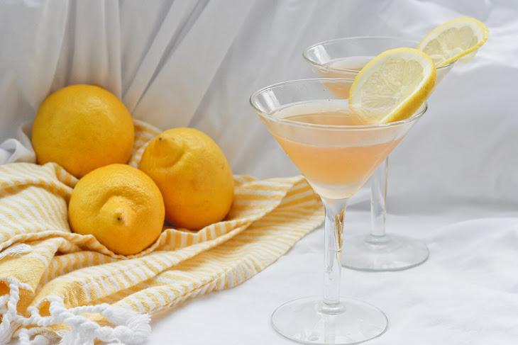 Lavender Lemon Bourbon Sour Recipe