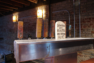 Photo: Locally-crafted tap handles for locally-crafted beer