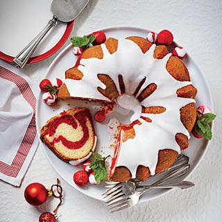 Red Velvet Marble Bundt Cake