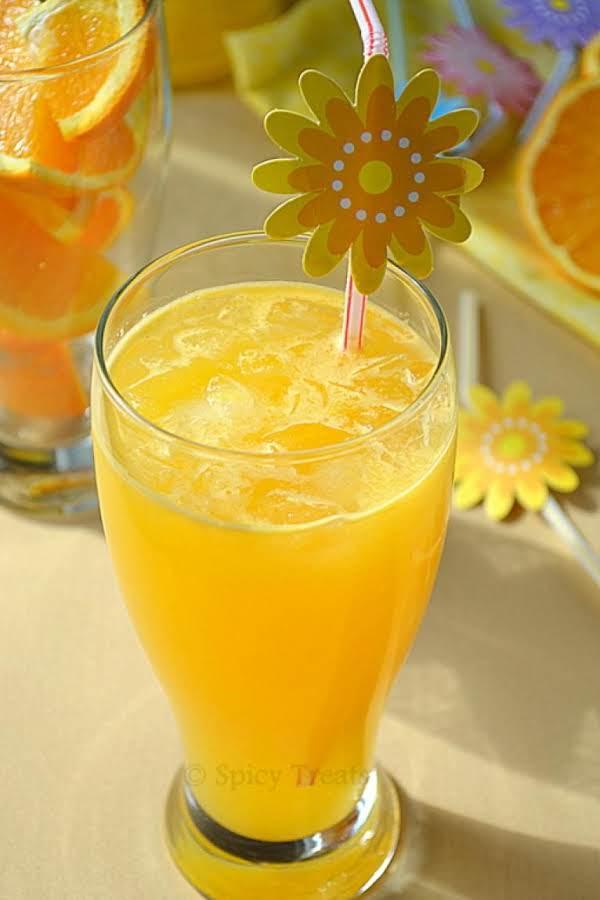 Orange Mocktail Recipe
