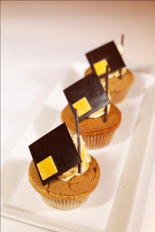 mocha salted caramel mini cake