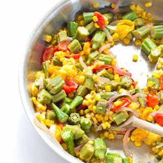 Succotash With Okra Recipes