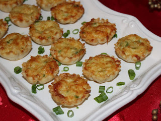 Crab Tartlets - Steph Recipe