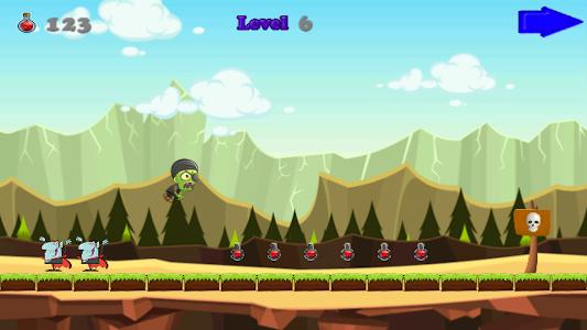 Angry Zombie Run screenshot 7