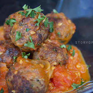 Spanish Meatballs In Tomato Sauce