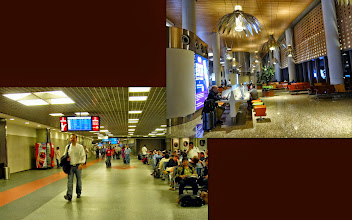 Photo: Mumbai's Chhatrapati Shivaji International Airport, now and then. From serviceable (lower) to elegantly yet functionally furnished (upper.) Still, the previous generation of terminal was much better than the Sahaar, Mumbai's dim, dismal, and old international terminal in around mid-2000's that had shrunken me by the sight of completely looking like a local railway station at the arrival from Narita, for the first time in India. 25th September updated (日本語はこちら) - http://jp.asksiddhi.in/daily_detail.php?id=658