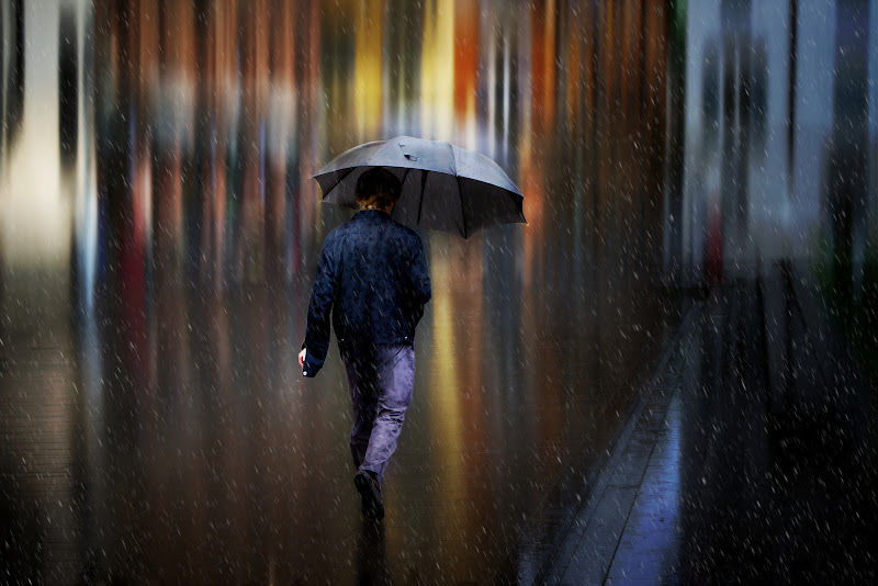 Walk out in the rain di Daniela Ghezzi