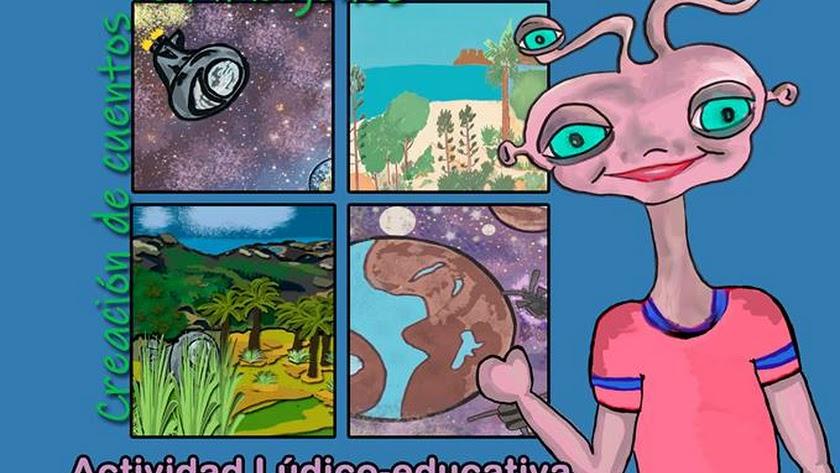Talleres infantiles en Bibabuk para crear historias basadas en Wistilon.