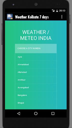 Weather Kolkata India  screenshots 2