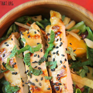 Chicken, Mango and Pineapple Salad Recipe