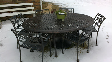Photo: 6 Seater Aluminium Furniture Sets http://www.outsideedgegardenfurniture.co.uk/Cast-Aluminium-and-Metal-Garden-Furniture/Tables-for-6/6-Seater-Oval-Metal-Patio-Set.html