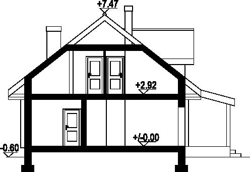 Osiek 88c - Przekrój