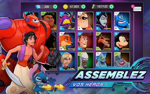 Disney Heroes: Battle Mode fond d'écran 2
