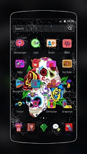 Sugar Skull Theme screenshot 1