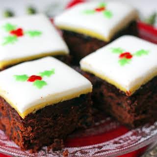 Christmas Chocolate and Orange Fruitcake.