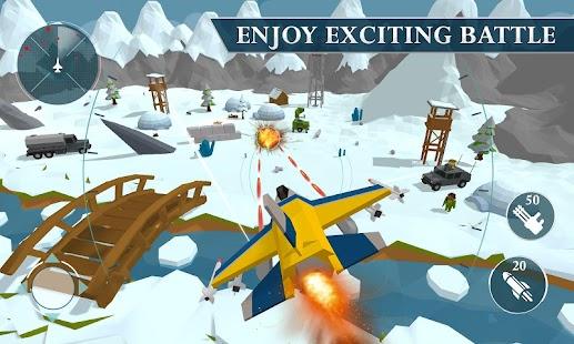 Warplane Craft: Air Jet Fighter Sim Naval Ships 3D - náhled
