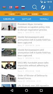 Azerbaijan News screenshot 0