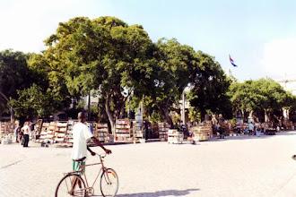 Photo: #017-La Havane-Le marché aux livres sur la Plaza de Armas