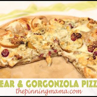 Pear and Gorgonzola Pizza.
