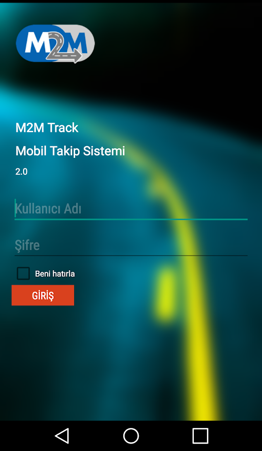M2MTRACK- screenshot