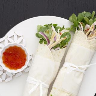 Thai Style Chicken Wrap