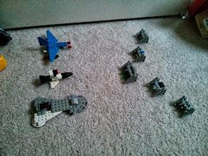 Photo: Lego Starfighters
