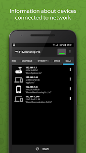 WiFi Monitor Pro: analyzer of WiFi networks Screenshot