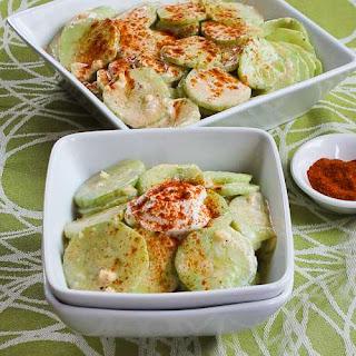 Al's Famous Hungarian Cucumber Salad