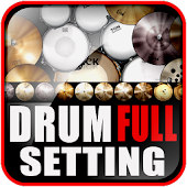 Real Drum Full Setting