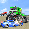 Demolition Derby : Monster Truck Crash Stunts icon