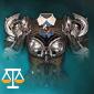 名誉の正義の鎧