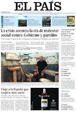 Photo: La crisis acentúa la ola de malestar social contra Gobierno y partidos y EL PAÍS viaja a la España que respira más sucio, en la portada de la edición nacional del domingo 7 de octubre de 2012 http://ep00.epimg.net/descargables/2012/10/07/7556662d6923eb75e4c19da37fe788b7.pdf