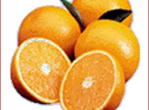 Easy Orange Nut Fingers