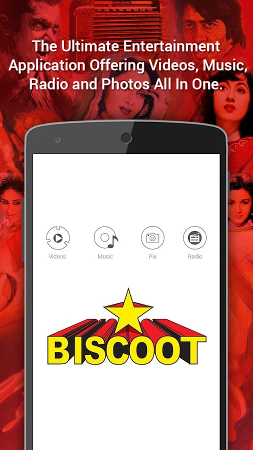 Biscoot : Music, Video & Radio- screenshot