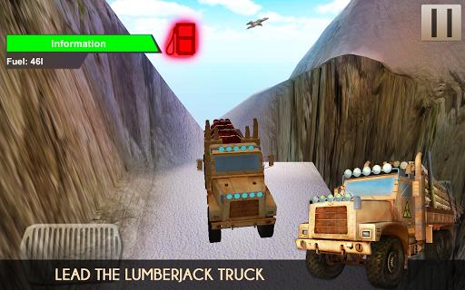 Lumberjack Log Truck