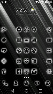 Neon-W Icon Pack Screenshot