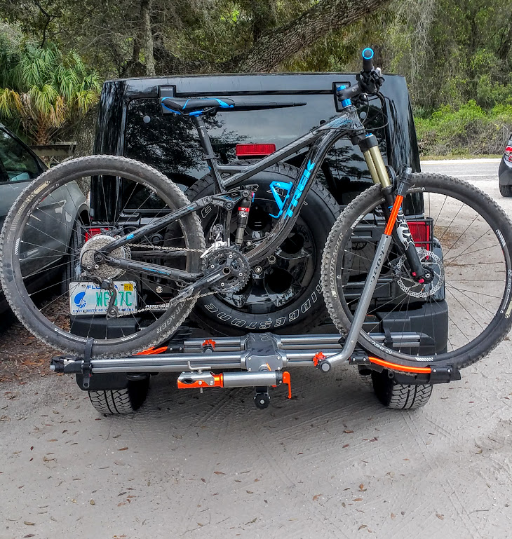 Yakima Holdup 2 >> Hitch-mounted bicycle carrier? - Jeep Wrangler Forum