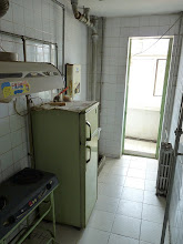 Photo: Beijing - looking for room in shared apartment, 4 bedrooms, 3 of them available, rooms ranging from 1200-1600Y, but very basic without mattresses and quite run down building, very basic kitchen