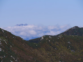 乗鞍岳は雲の中・・・