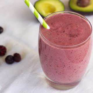 Nutrient-Rich Berry Smoothie.