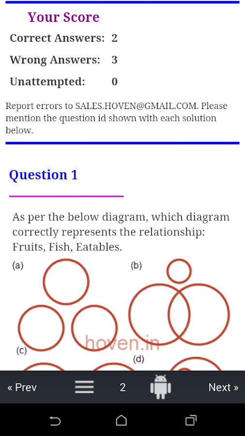 Analytical quiz venn diagrams android apps on google play analytical quiz venn diagrams screenshot ccuart Images